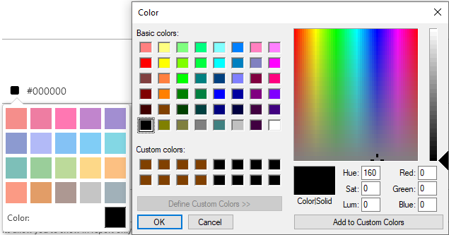 Additional Color Pallete