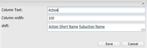 Subaction formula